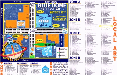 Blue Dome Map
