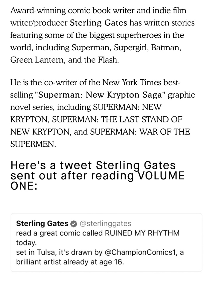Sterling Gates Praise